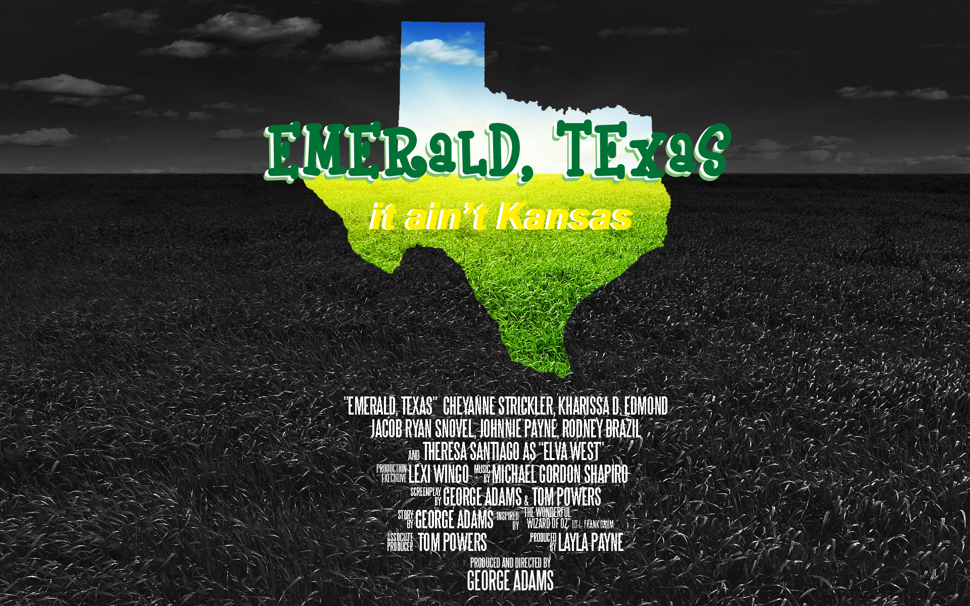Emerald Texas, George Adams, CheyAnne Strickler